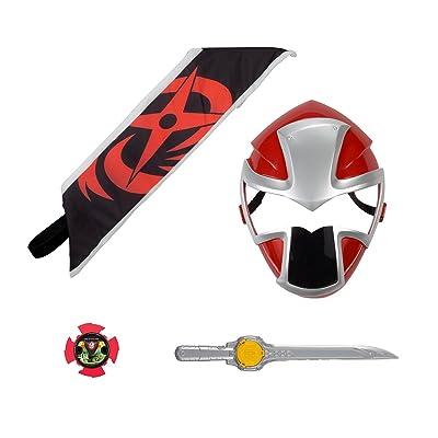 Power Rangers Ninja Steel - Red Ranger Hero Set: Toys & Games