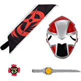 Amazon.com: Power Rangers Super Ninja Steel Red Ranger Hero ...