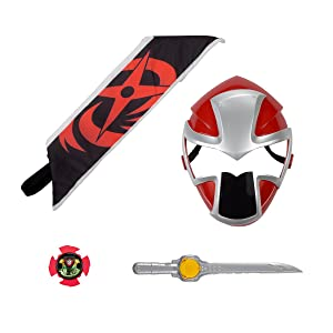 Power Rangers Ninja Steel - Red Ranger Hero Set