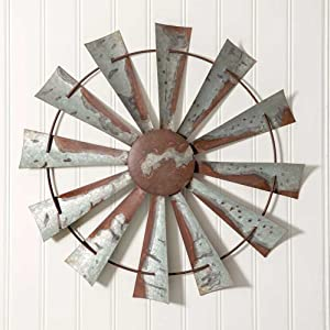 CTW Home Collection Windmill Wall Decor