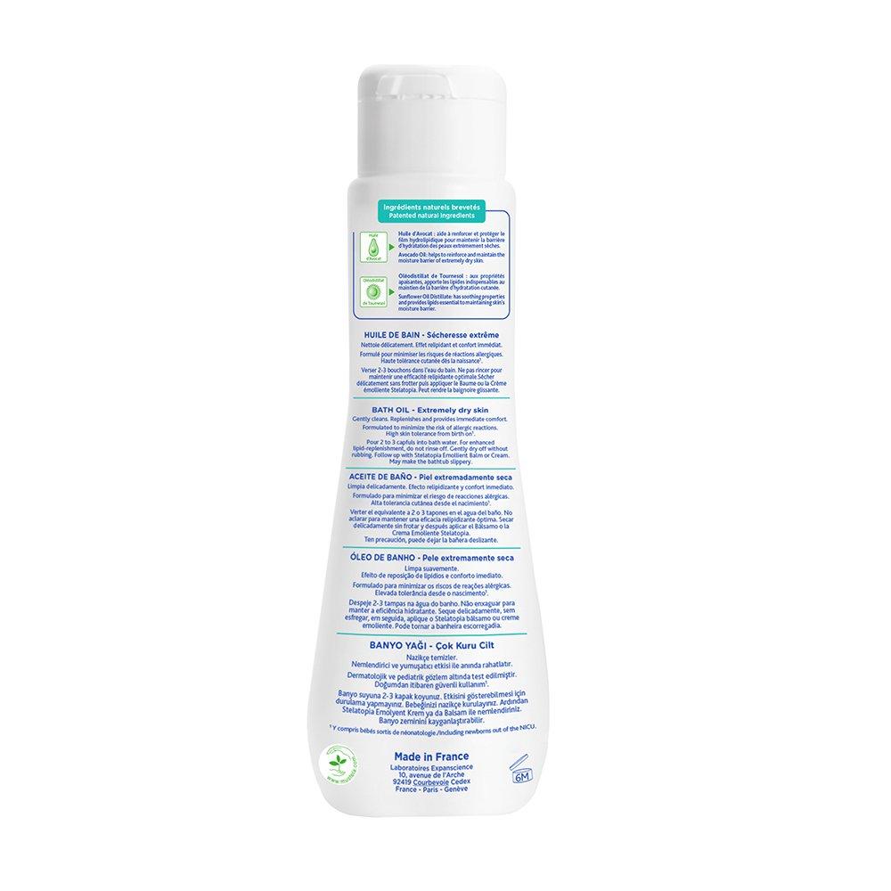 Mustela Stelatopia Bath Oil For Eczema Prone Skin 67 Emollient Cream Floz Luxury Beauty