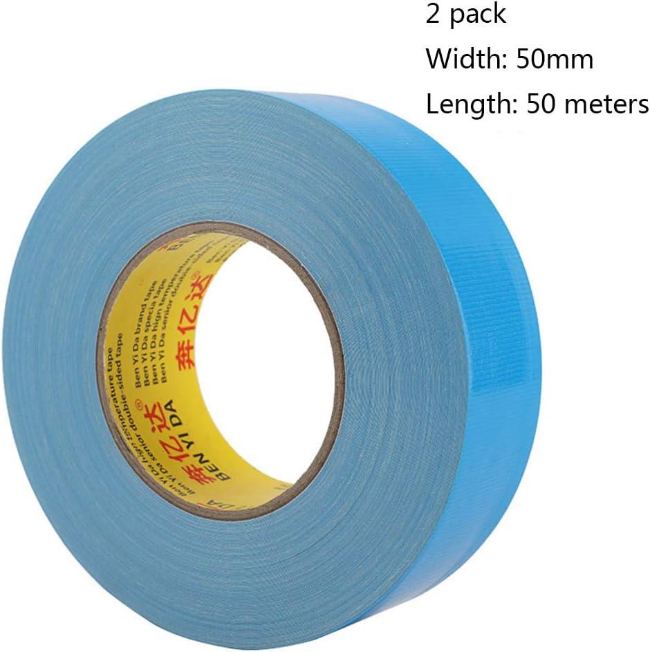 orange Ruban de tissu de haute r/ésistance adh/ésive bande de sol imperm/éable non marquant en cuir solide bande adh/ésive