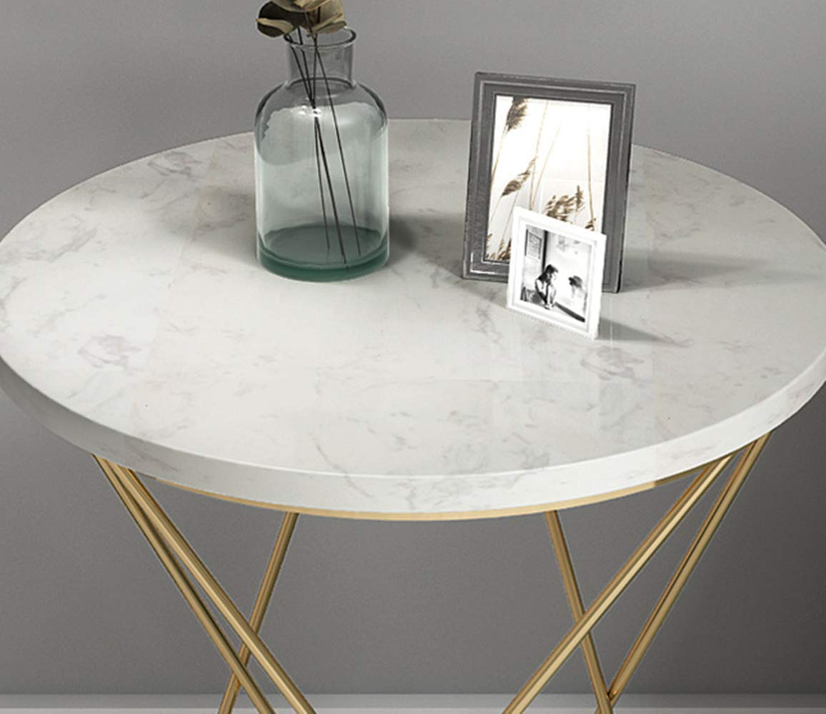 Amazon.com: Mesa de Centro, mesa Auxiliar, mesa de sofá ...