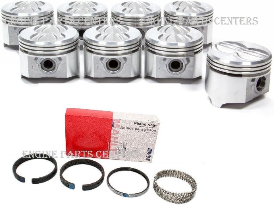 Sealed Power 411NP 20 Engine Pistons Pontiac 400ci set//8