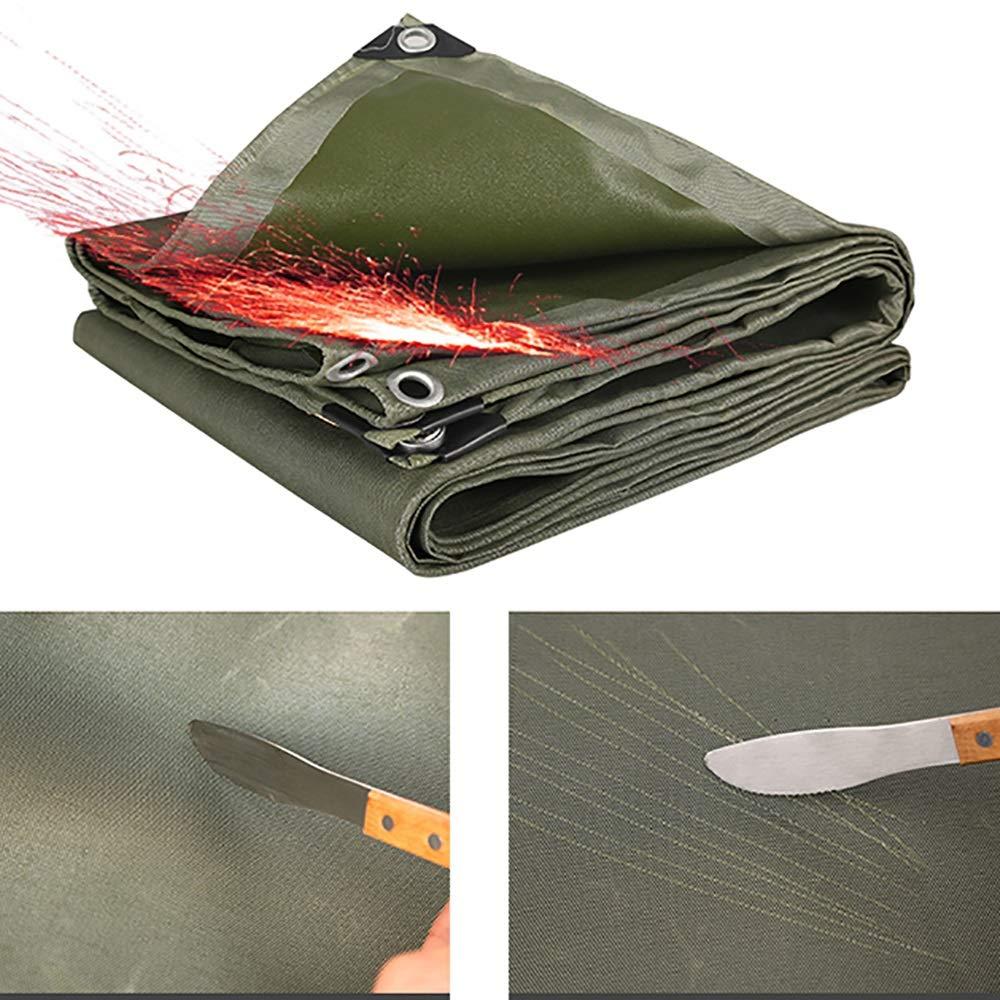 YINUO Impermeabilizante Paño protector solar Impermeable Engrosamiento Lona Car Shade Canopy Plástico Cobertizo PVC Crepe Lienzo personalizado (180 g/Metro ...