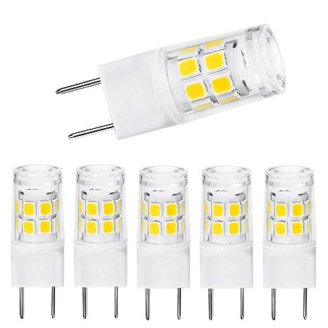 G8 Led Bulbs Daylight White 6000k T4 G8 Base Xenon Jcd Type Led Halogen Replacement Bulb 4w 40w Halogen Equivalent Bi Pin G8 Led Light Bulb 5pack