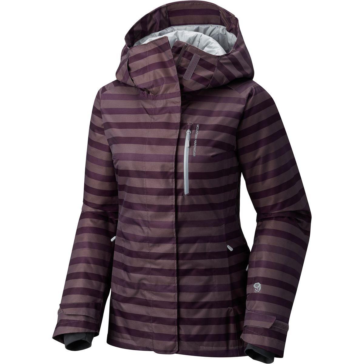 Mountain Hardwear barnsie Jacket – Women 's B01MXM7TGR X-Small|Purple Sage Purple Sage X-Small