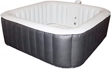 Spark Spa Jacuzzi Gonflable Carre 185x185 Cm 8 Places