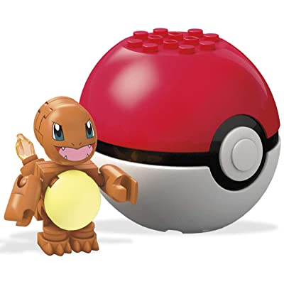 Mega Construx Pokemon Charmander Building Set: Toys & Games