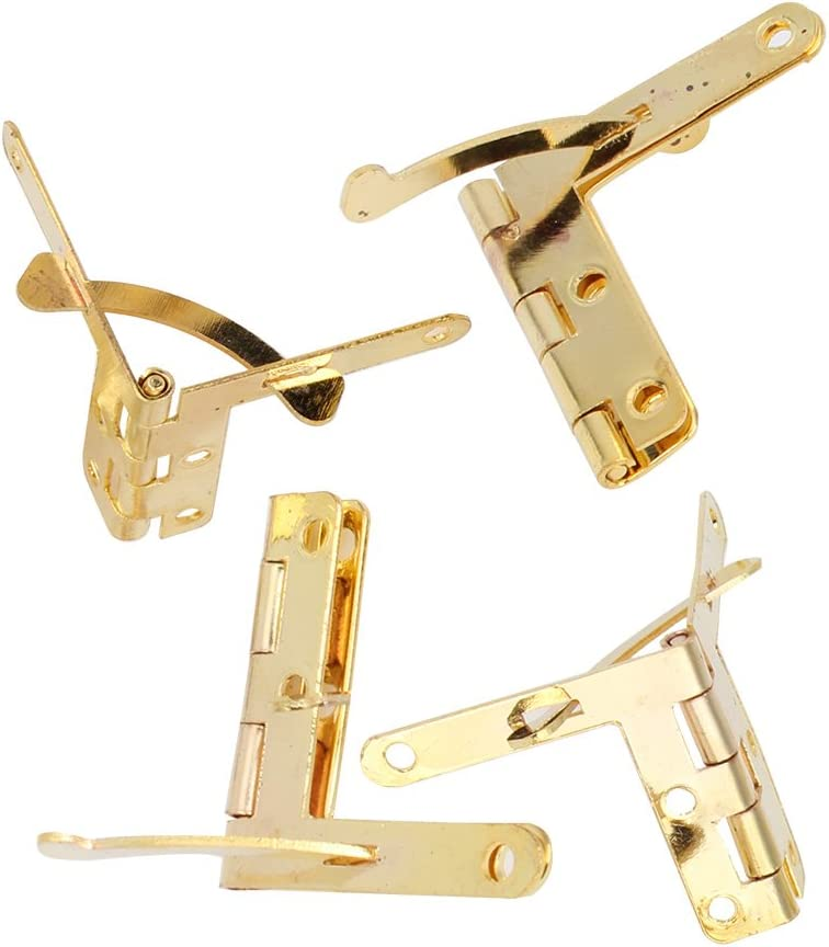 BQLZR Hinge Hardware Accessories 33x30mm Spring Hinge For Jewelry Box Pack Of 10