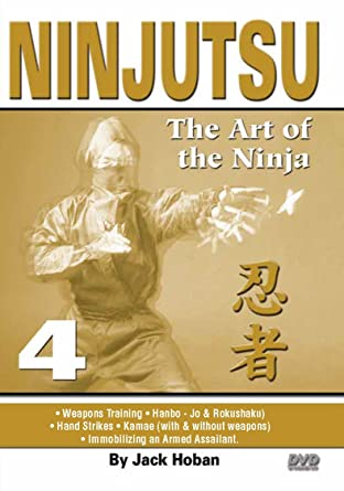 Amazon.com: Ninjutsu Art of the Ninja #4 Hanbo, Rokushaku ...