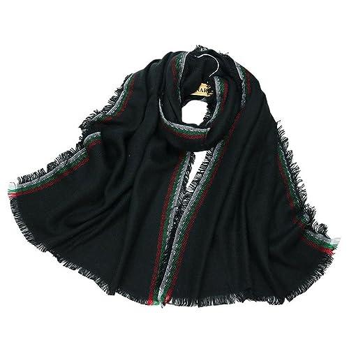 Sciarpe da donna, Kfnire scialle da sposa sciarpa in cachemire da donna elegante per l'autunno inver...