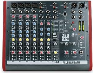 Allen heath ZED10FX - Allen-heath zed-10fx mezclador 4 canales usb multiefectos