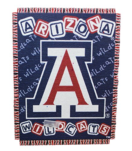 Texas A&m Aggies Woven Jacquard - NCAA Arizona Wildcats 36-Inch-by-46-Inch Woven Jacquard Baby Throw