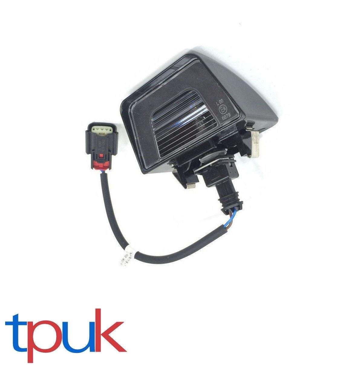 TRANSIT MK8 TIPPER CHASSIS CAB NUMBER PLATE LAMP 2014 ON 1815613 FLAT BED TPUK