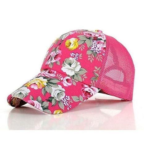 YPORE Nuevas Gorras De Béisbol con Estampado Floral Flores Gorras ...