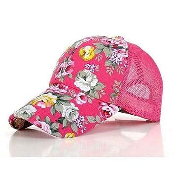 HANOB Sombrero Gorras Gorros De Béisbol con Estampado Floral ...