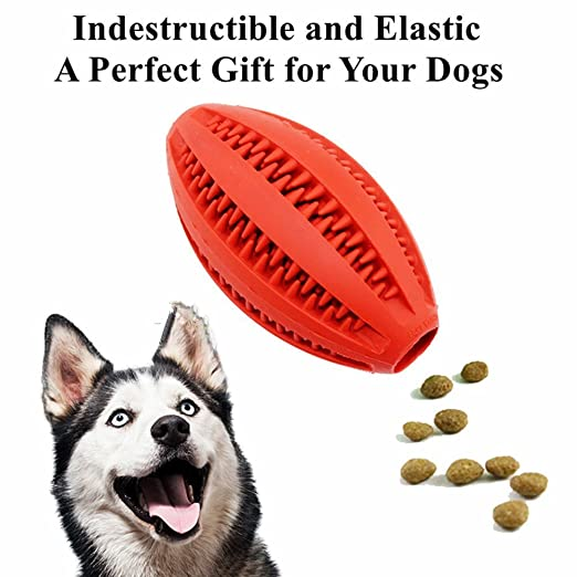 Rubber Soft Dog Chew Ball Toy - Duradero y fuerte Indestructible - Mejor para Puppy Small Medium Dogs: Amazon.es: Productos para mascotas