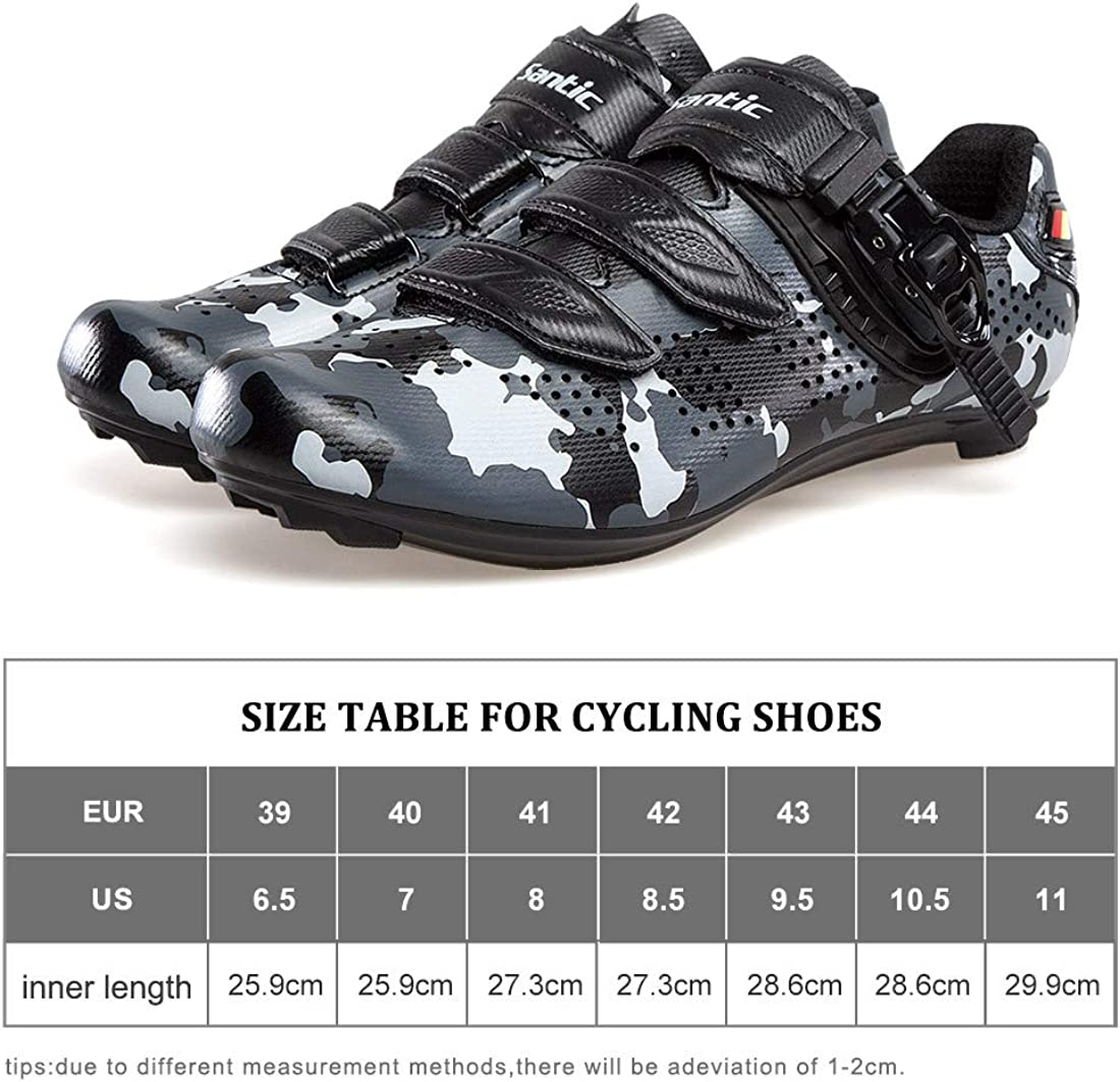 Santic Cycling Shoes Road Bike Shoes Spin Shoes with Buckle