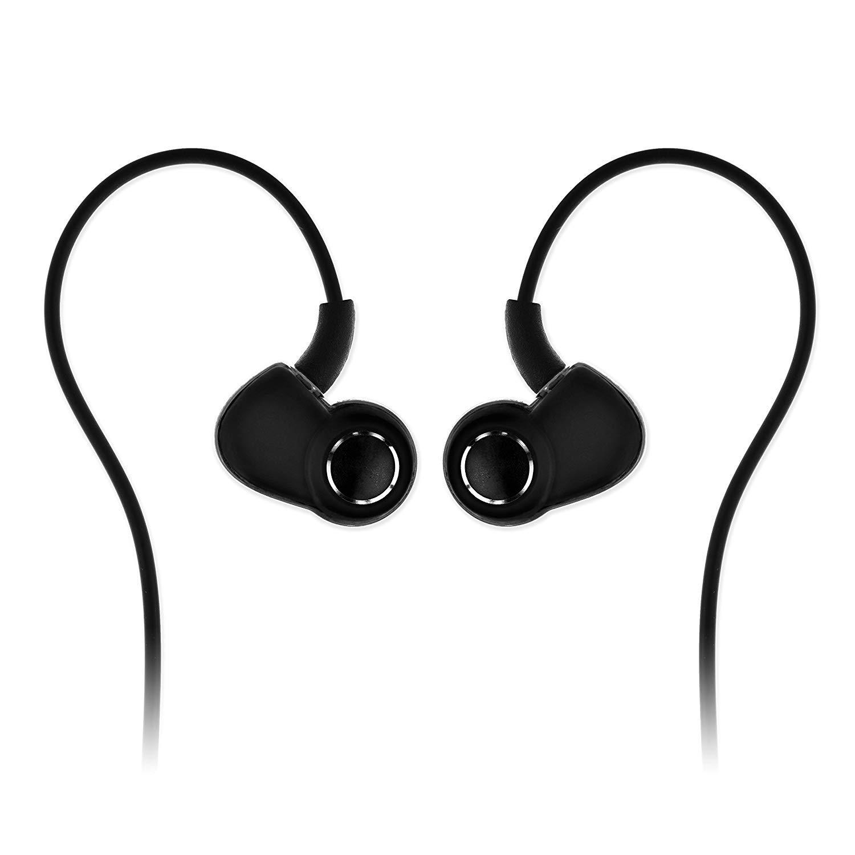 SoundMAGIC PL30 Earphones IEM Noise Isolating Wired in-Ear Earbuds Powerful Bass HiFi Stereo Sport Headphones Black