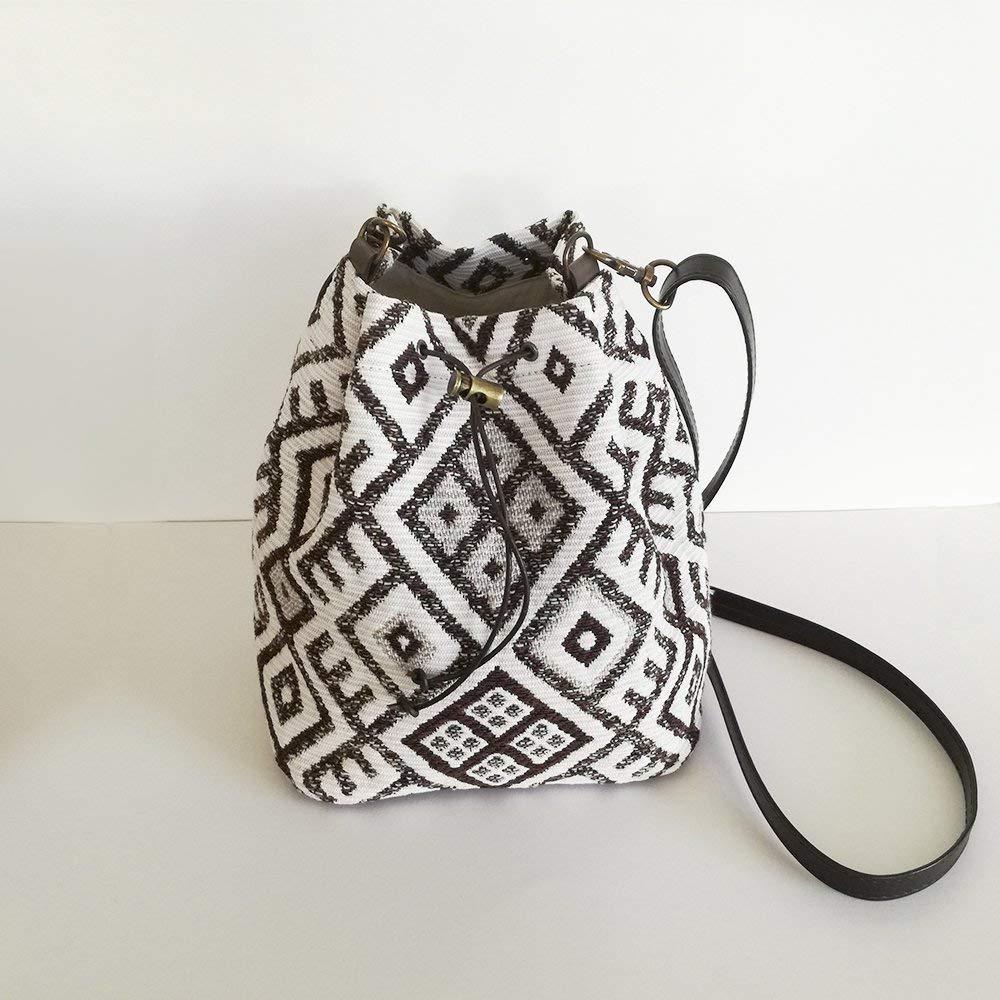 Bolso de hombro tribal, bolso de mujer, bolso con estampado ...