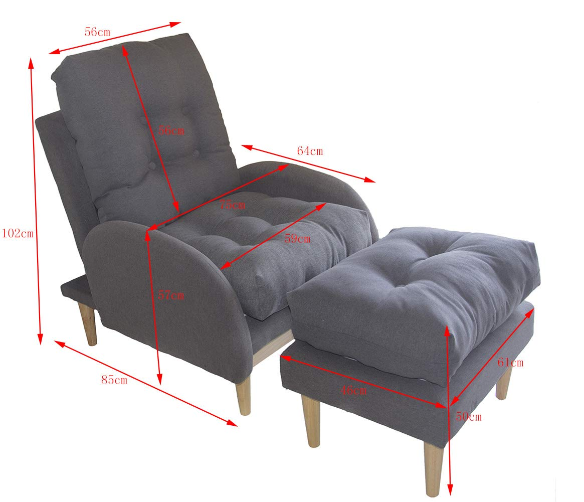 Glenmore Sillon Butaca Relax Dormitorio Salon Sofa ...