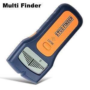 Detector de vigas, pantalla LCD Multiescaneo Multifunción con diseño ergonómico, escáner de detección para vigas de pared, cables y metales en general