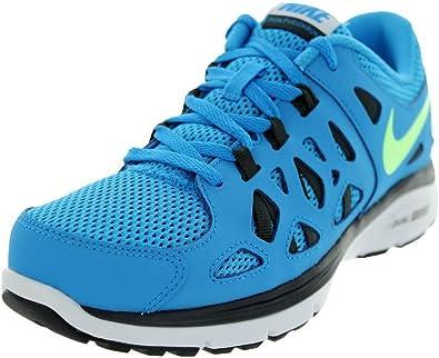 Nike Dual Fusion Run 2 (GS), Zapatillas de Running para Niños, Azul/Negro (Blue Hero/Flsh LM-Anthrct-Blk), 36 EU: Amazon.es: Zapatos y complementos