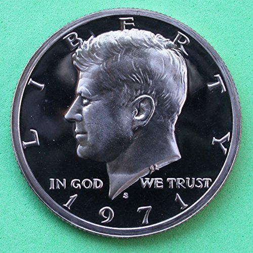 1971 S Gem Proof Kennedy Half Dollar US Coin Half Dollar Uncirculated US Mint
