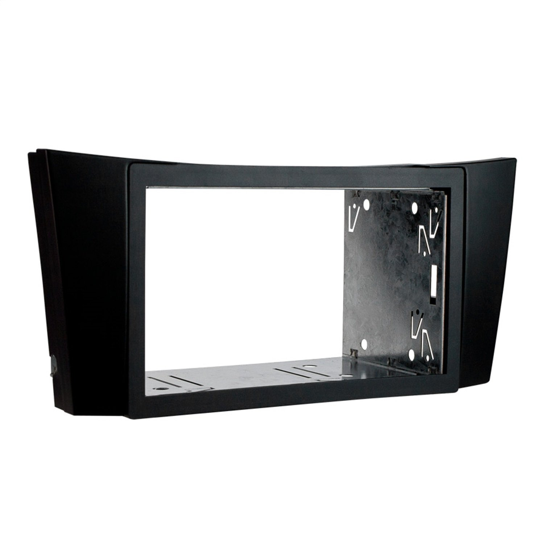 Metra 95-8718 Double DIN Kit Dash Installation Kit for 03-09 Mercedes E-Class (Black)