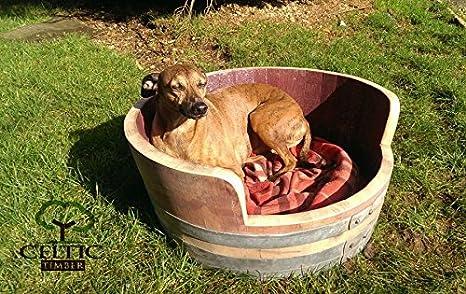 Roble barril perro cama spooff: Amazon.es: Jardín