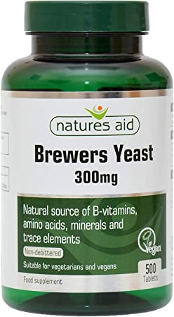 Imagen deNatures Aid Brewers Yeast Tablets 300mg Pack of 500