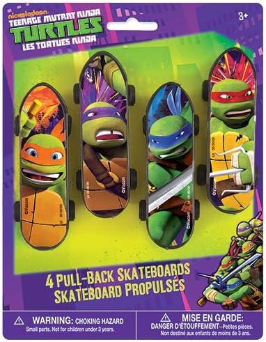 Amazon.com: Tortugas Ninja mutantes adolescentes, talla ...