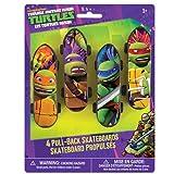 ninja turtles with skateboard - Teenage Mutant Ninja Turtles Mini Skateboard Party Favors, 4ct