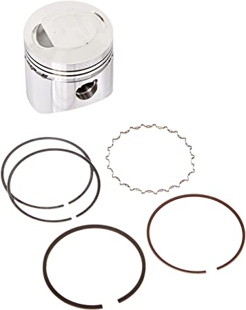 Wiseco 4665M04900 49.00mm 9.7:1 Compression 82cc Motorcycle Piston Kit