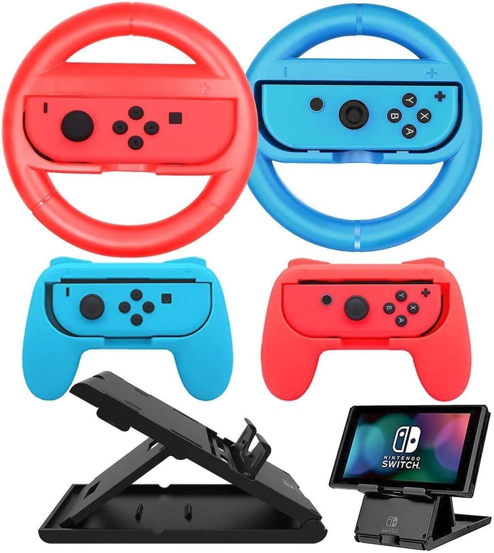 Accesorios Switch,DOYO, 2 Controladores de Volantes de Nintendo ...