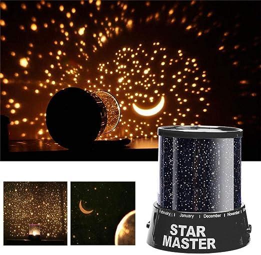 Luces de noche LED Cielo estrellado Estrellas mágicas Luna Planeta ...