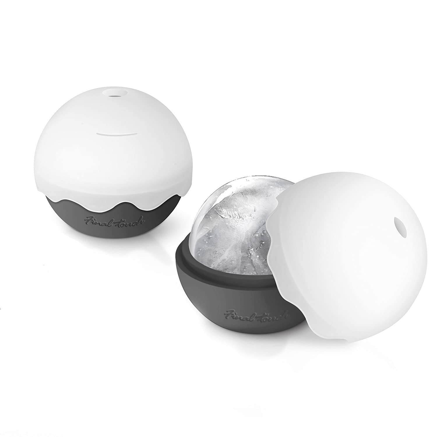 Ice Ball Moulds - Pack of 2 | Silicone Ice Ball Mould, Ice Sphere ...