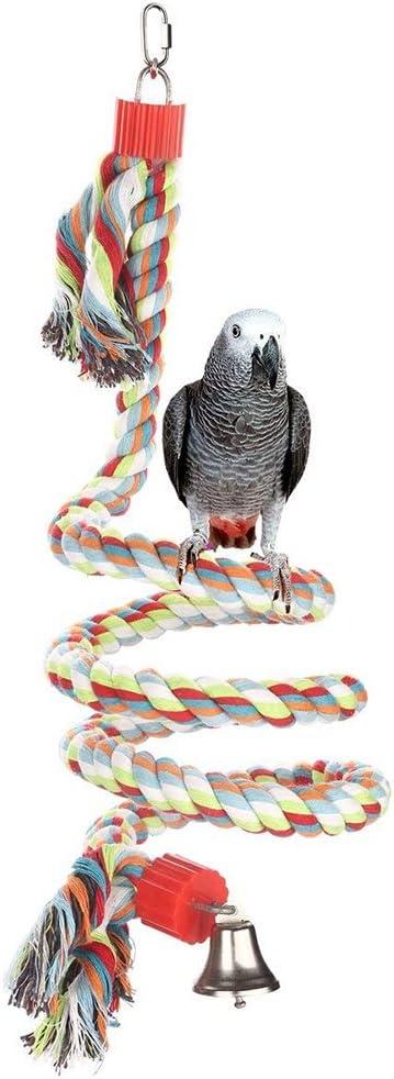PanDaDa Juguete para pájaros, Cuerda pájaro Bungee Juguete ...
