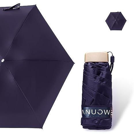 OldPAPA Mini Five-fold Pocket Umbrella, Windproof Travel Umbrella - Anti-UV Sun