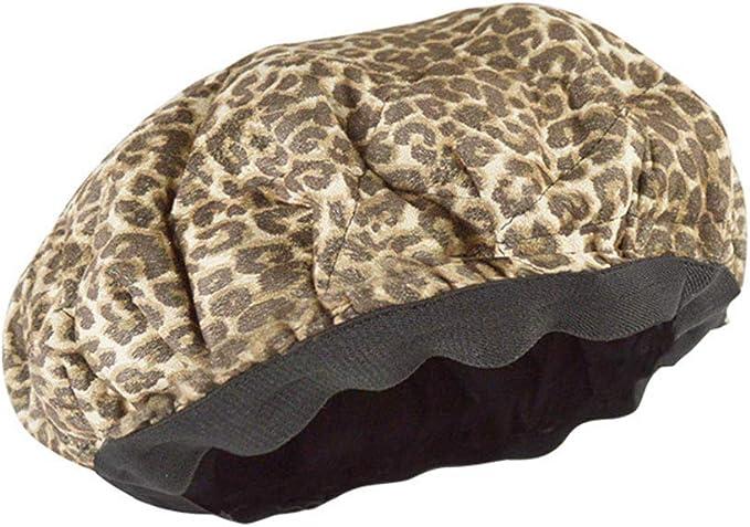 Gorra de calor acondicionadora profunda para microondas, sin cable ...