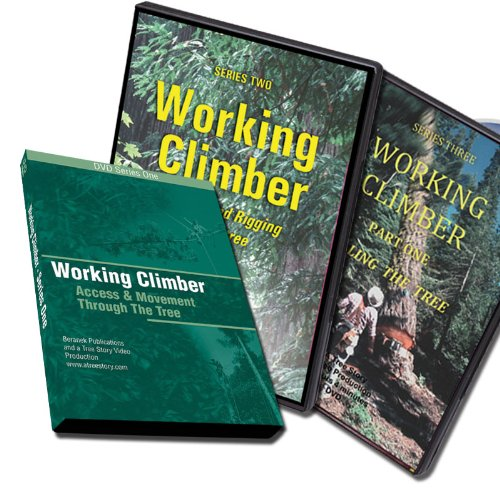 Jerry Beranek's Working Climber DVD package with Series I, II and III