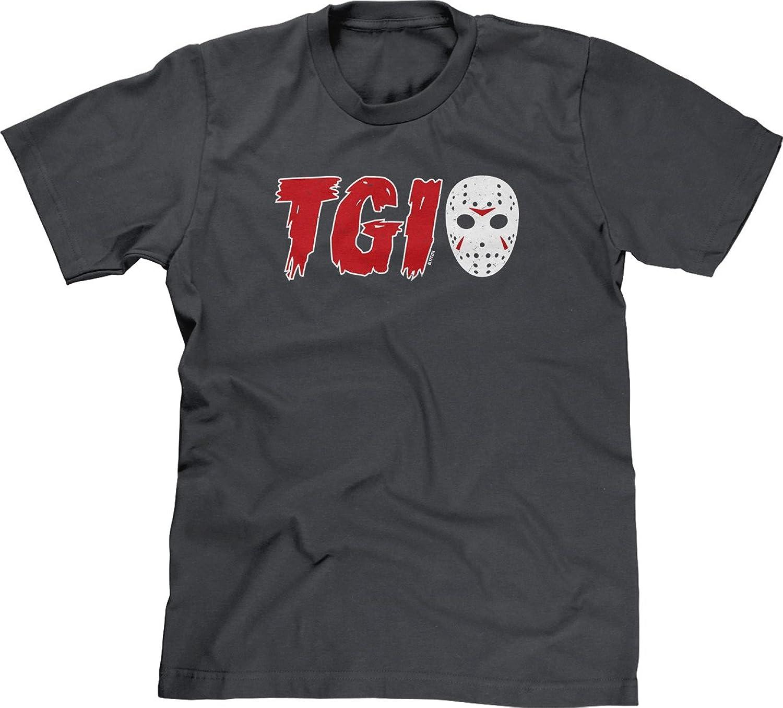Blittzen Mens T-shirt TGI Mask