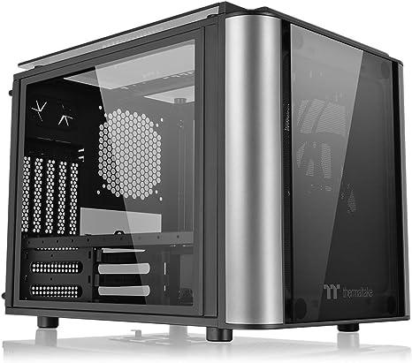Thermaltake Level 20 VT PC-Case - Caja de Ordenador, Color Negro y Plata: Thermaltak: Amazon.es: Informática