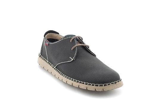 Blucher Callaghan De Piel Azul 84752 40 Azul: Amazon.es: Zapatos y complementos