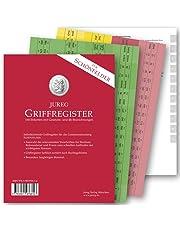 Griffregister für SCHÖNFELDER | selbstklebende Register mit Gesetzes- und §§-Bezeichnungen | 2019