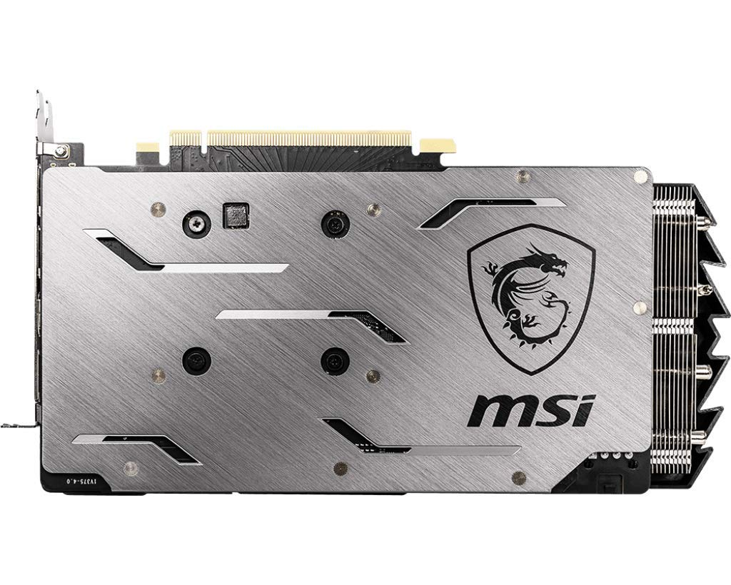 MSI Gaming GeForce RTX 2060 6GB GDRR6 192-bit HDMI//DP Ray Tracing Turing Architecture VR Ready Graphics Card RTX 2060 GAMING 6G