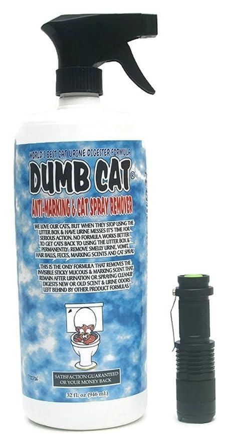 Astounding Dumb Cat Urine Digester Odor Remover With Uv Blacklight Pet Urine Detector Light Bundle Machost Co Dining Chair Design Ideas Machostcouk