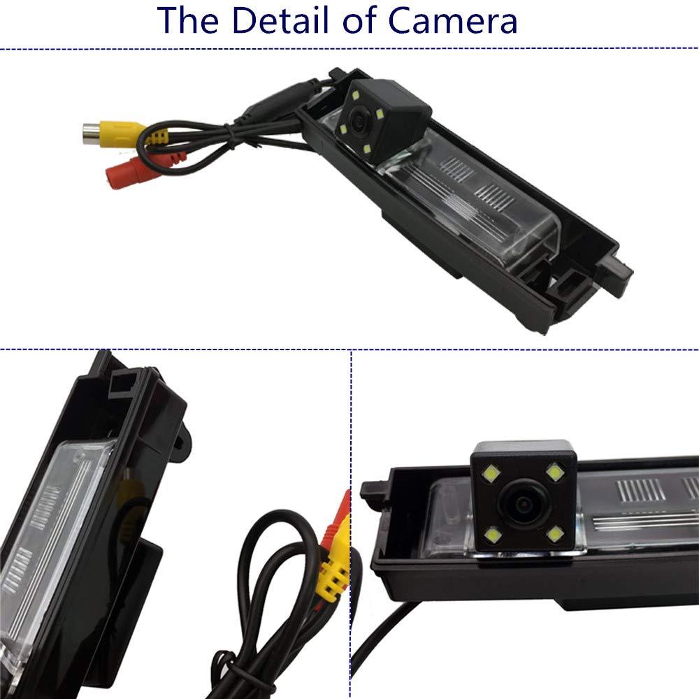VANWIN TRACKING VW-603a HD CCD Car Backup Camera Auto Reversing Parking Camera Toyota Rav4 2009-2013 Night Vision Waterproof 2009//2010//2011//2012//2013 RAV4