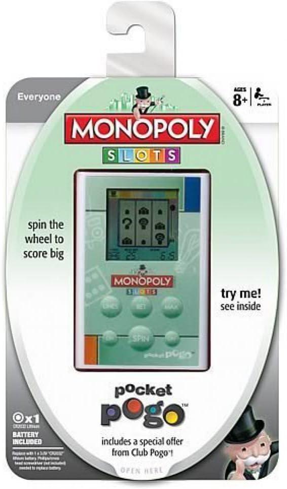 Parker Brothers Monopoly Slots Pocket Pogo: Amazon.es: Juguetes y juegos
